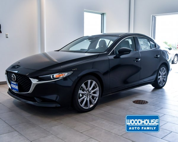 New 2019 Mazda3 Sedan w/Select Pkg FWD 4dr Car